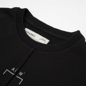 A-COLD-WALL* | Overlock Crewneck Black