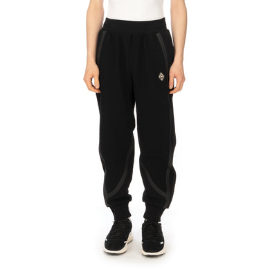 A-COLD-WALL* | Textured Jersey Pants Black - Concrete
