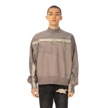 將圖像加載到畫廊查看器中Val Kristopher | Raw Strip Mockneck Dusty Pink - Concrete
