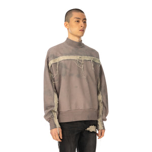 Val Kristopher | Raw Strip Mockneck Dusty Pink - Concrete