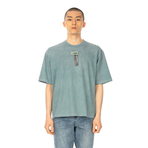Val Kristopher | Logo T-Shirt Denim Blue - Concrete