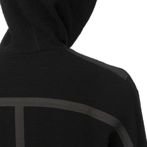 A-COLD-WALL* | Textured Hoody Black