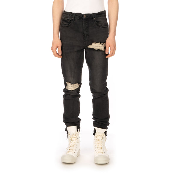 Val Kristopher | Phrase Denim Faded Black