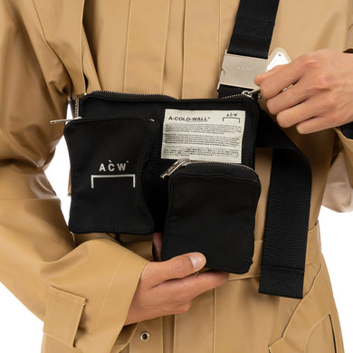 A-COLD-WALL* | V2 Holster Bag w. Multiple Pockets Black