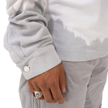 Load image into Gallery viewer, A-COLD-WALL* | Recut Polo Longsleeve Shirt White - Concrete