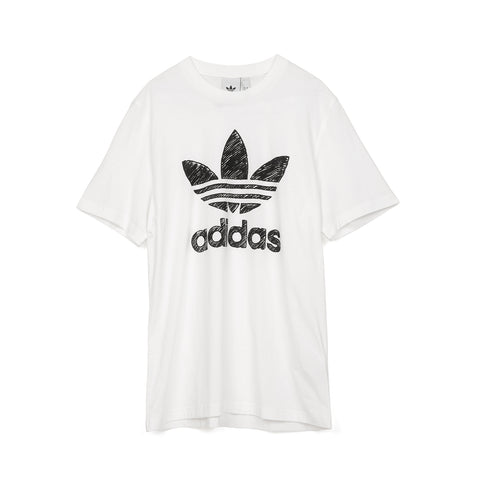 adidas Originals Hand Drawn T1 T-Shirt White
