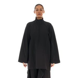adidas Y-3 | Womens CH1 Knit Halfzip Sweater Black | GT5284