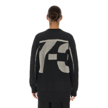 將圖像加載到畫廊查看器中adidas Y-3 | W Classic Sheer Knit Crew Sweater Black - GV0362 - Concrete