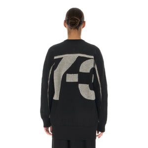 adidas Y-3 | W Classic Sheer Knit Crew Sweater Black - GV0362 - Concrete