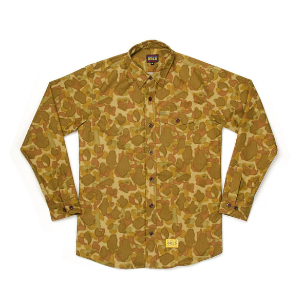 Acapulco Gold | Outback Button Down Shirt Camo - Concrete
