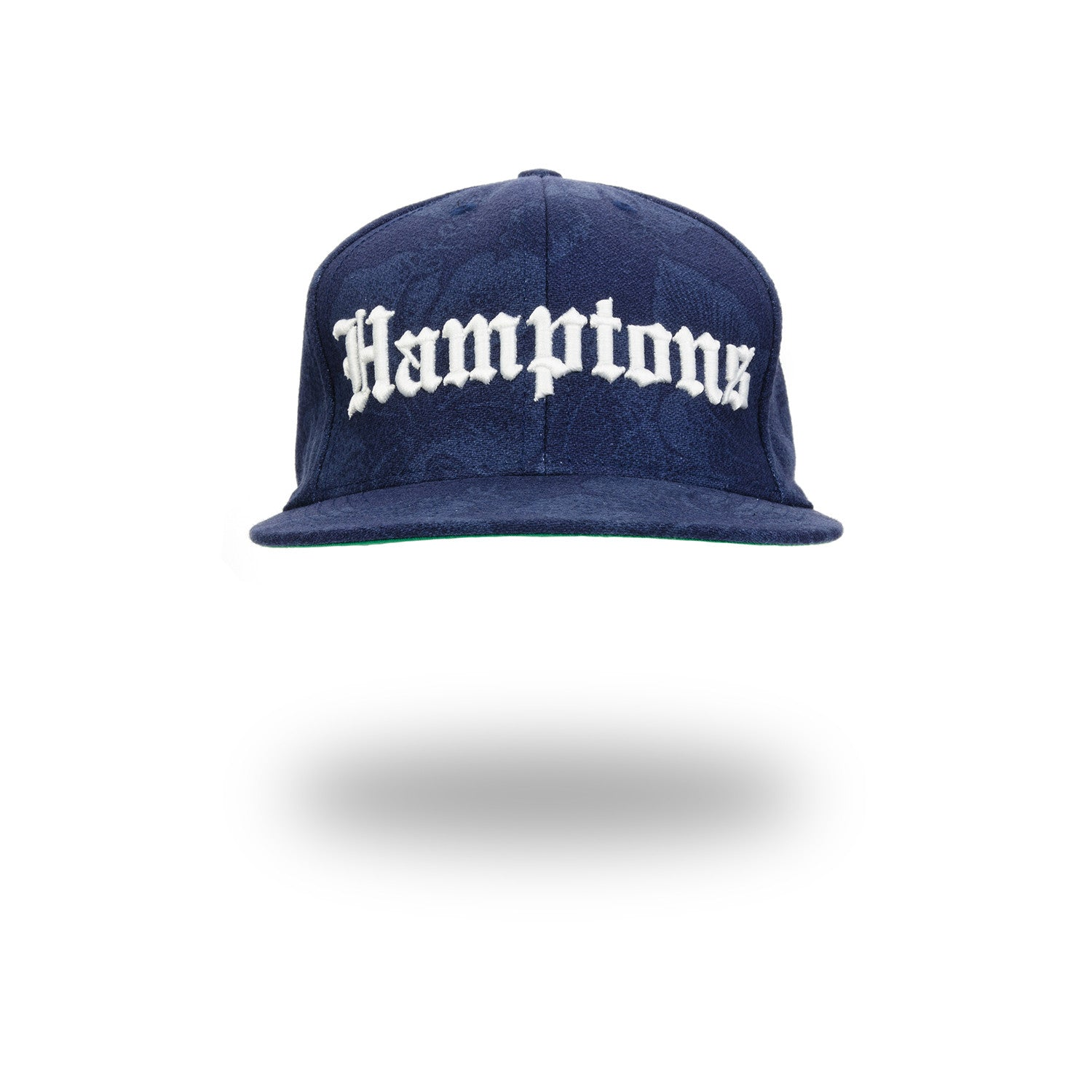 Acapulco Gold Hamptons Snapback Navy Floral - Concrete