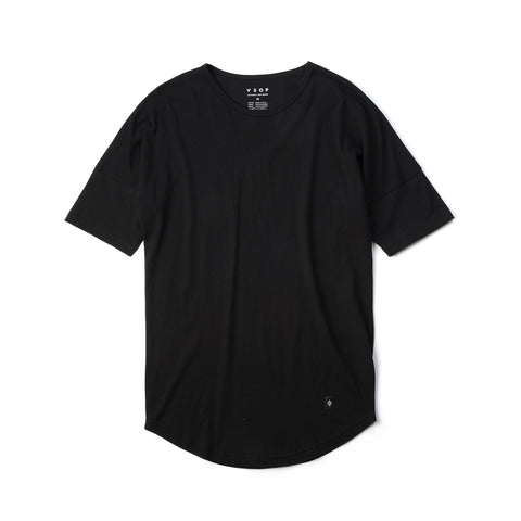 Akomplice Elongated Sleeve Moan Tee Black