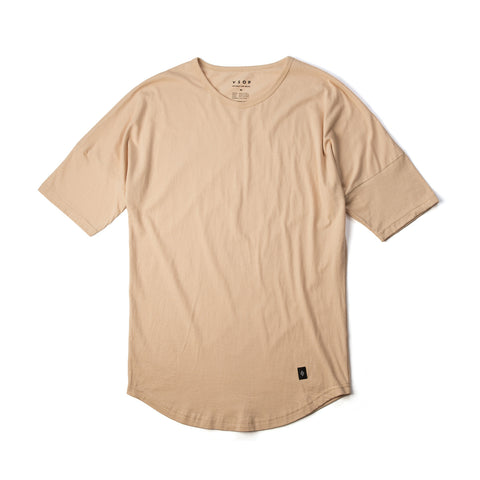 Akomplice Elongated Sleeve Moan Tee Cream
