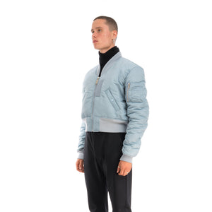 AMBUSH | MA-1 Jacket Light Blue - Concrete