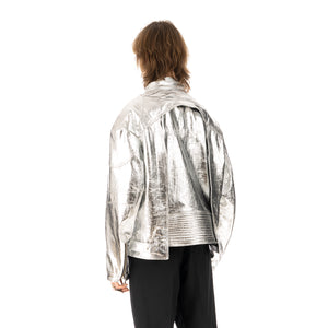 AMBUSH® | Riders Jacket Silver