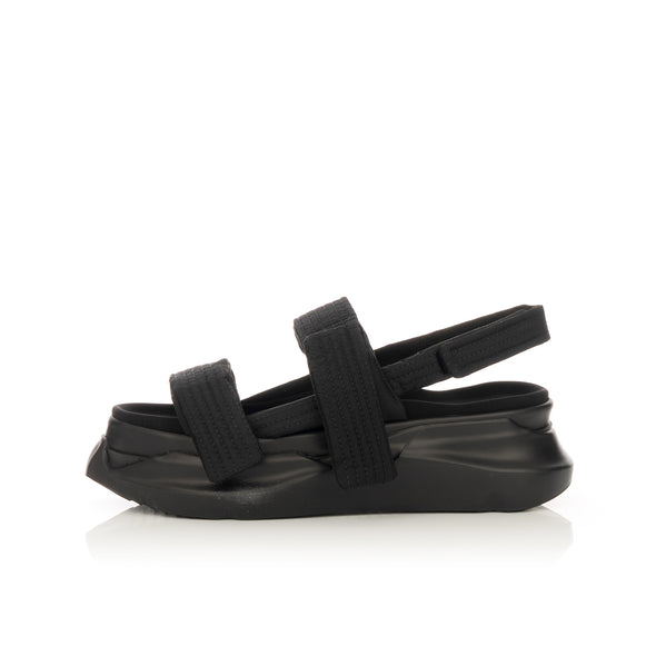 DRKSHDW by Rick Owens | Abstract Sandals Black - Concrete