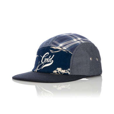 Acapulco Gold | Patchogue Multi-Panel Camp Cap Navy