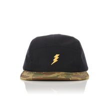 Load image into Gallery viewer, Acapulco Gold 5-Panel Volley Cap Tigerstripe Camo - Concrete