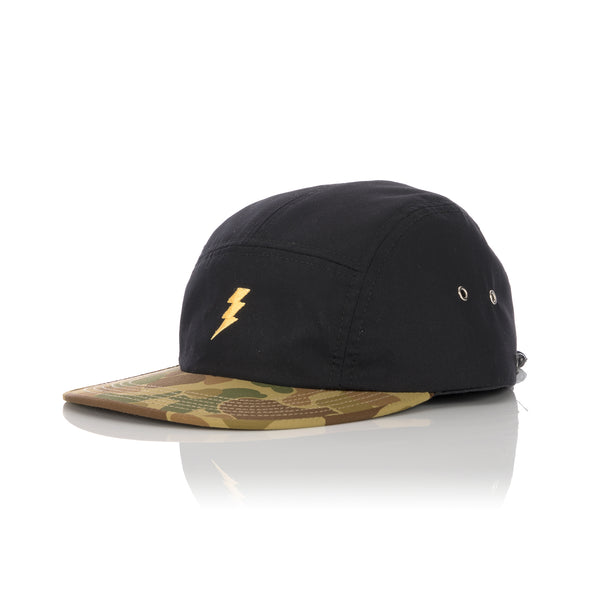 Acapulco Gold 5-Panel Volley Cap Tigerstripe Camo - Concrete