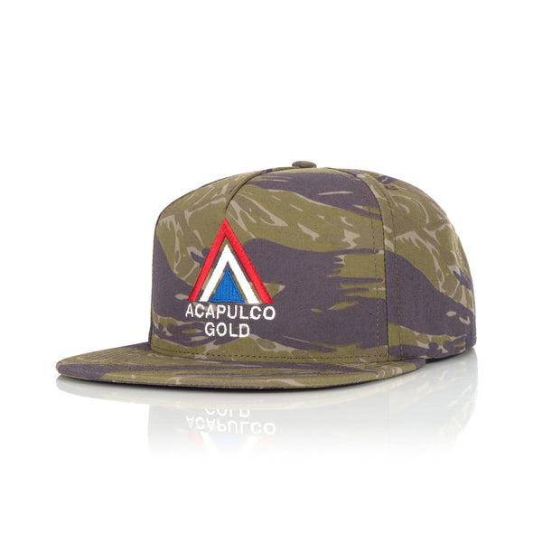 Acapulco Gold | Deer Hunter Snapback 5-panel Cap Camo - Concrete