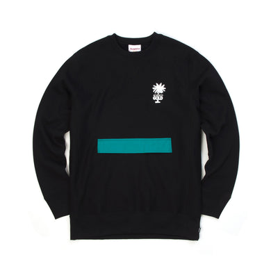 Acapulco Gold | Stow Pocket Crewneck Black - Concrete