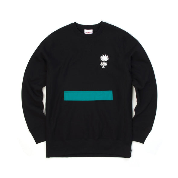 Acapulco Gold Stow Pocket Crewneck Black