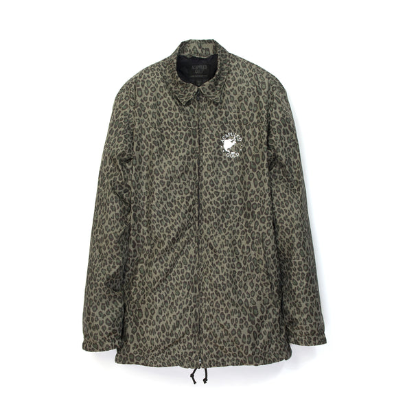 Acapulco Gold | Worldwide Windbreaker Leopard Camo - Concrete