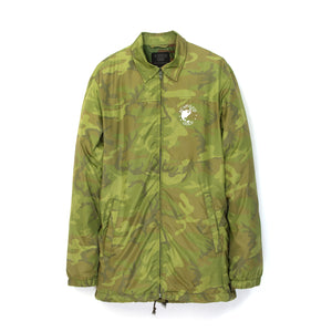 Acapulco Gold | Worldwide Windbreaker Woodland Camo - Concrete