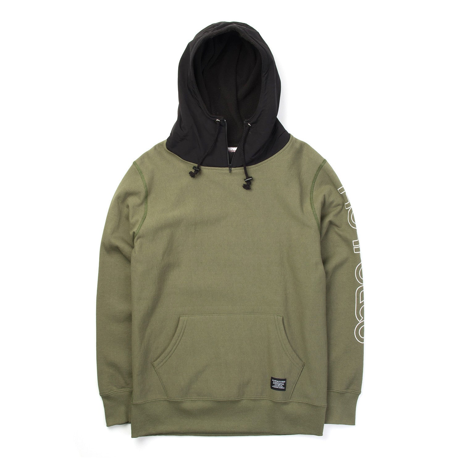 Acapulco Gold Alpine Pullover Hoodie Olive