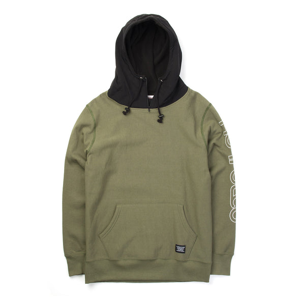 Acapulco Gold | Alpine Pullover Hoodie Olive - Concrete