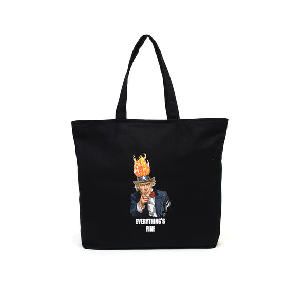 Acapulco Gold Everything's Fine Tote Bag Black