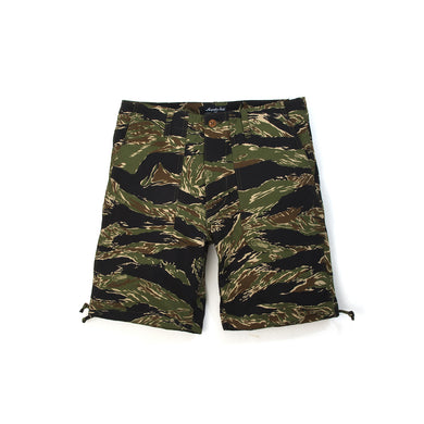 Acapulco Gold | Fugazi Officer Shorts Tigerstripe Camo - Concrete