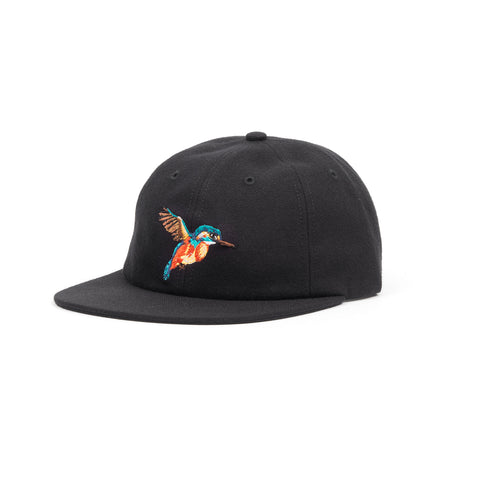 Acapulco Gold Hummingbird 6-Panel Cap Black