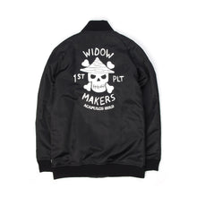 Afbeelding in Gallery-weergave laden, Acapulco Gold | Widow Maker Satin Bomber Black