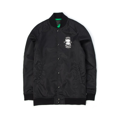 Acapulco Gold | Widow Maker Satin Bomber Black