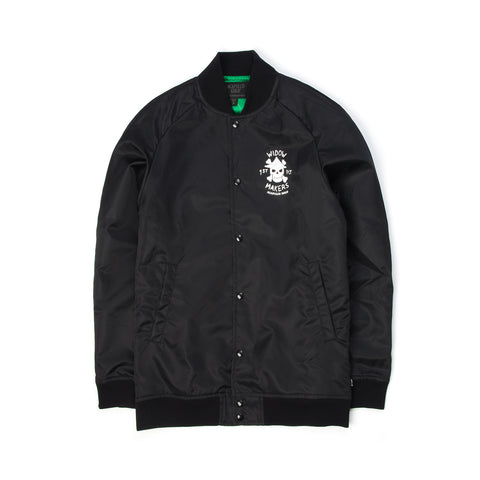 Acapulco Gold Widow Maker Satin Bomber Black