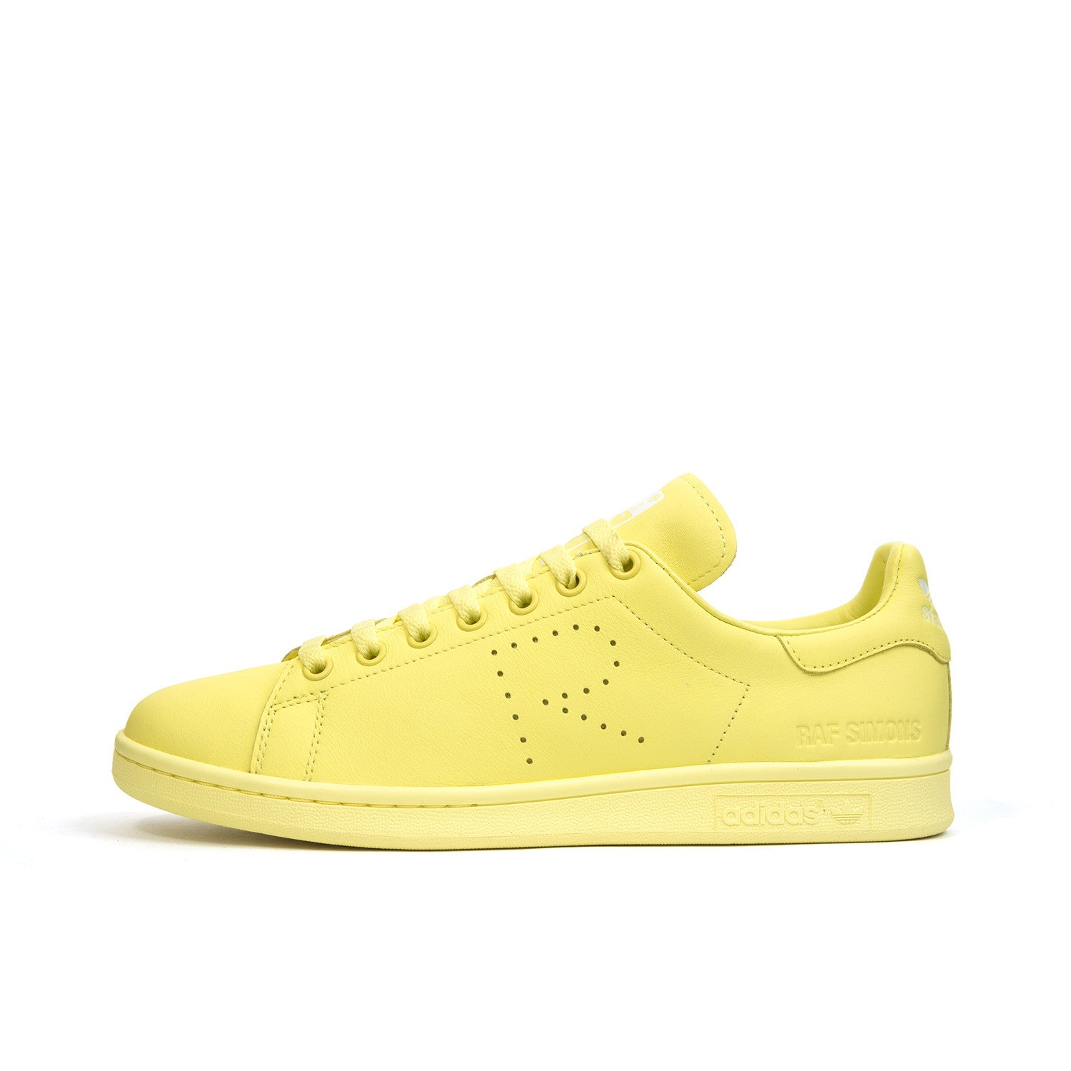 best website 0128b 3b996 adidas x Raf Simons Stan Smith Blush Yellow