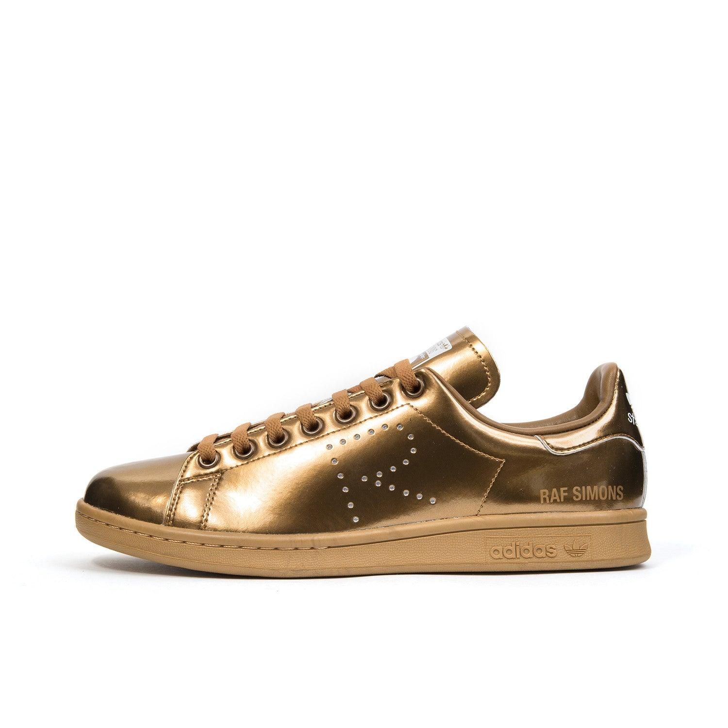new arrival pick up undefeated x adidas x Raf Simons Stan Smith Bronze