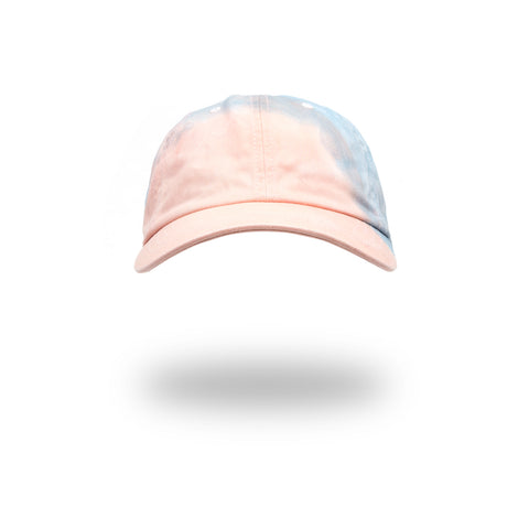 Akomplice Madder Root & Indigo Natural Dye Hat Pink/Blue