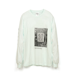 Akomplice | Earth Rights L/S T-Shirt Mint - Concrete