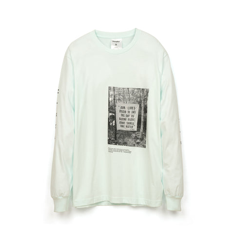 Akomplice Earth Rights L/S T-Shirt Mint