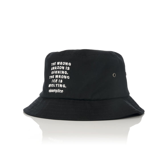 Akomplice | Wrong Amazon Bucket Hat Black - Concrete