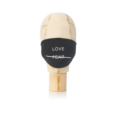 Akomplice | Love Over Fear Mask Black - Concrete