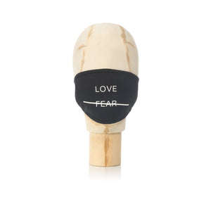 Akomplice | Love Over Fear Mask Black