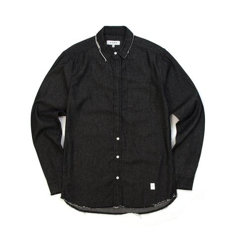 Akomplice Temple Button Up Shirt Charcoal