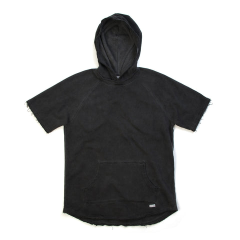 Akomplice West Overdye SS Hoodie Charcoal