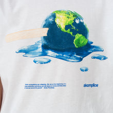 Load image into Gallery viewer, Akomplice | The Melting T-Shirt White