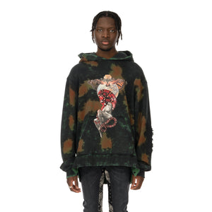 ALCHEMIST | Party In Paris Hoodie RBG Cloud Wash - Concrete