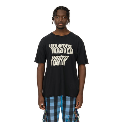 ALCHEMIST | Wasted Youth T-Shirt Vintage Black - Concrete