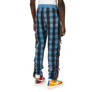 ALCHEMIST | I Wanna Be Sadated Joggers Blue / Black Check - Concrete